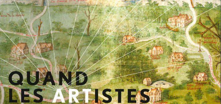 Exposition : Quand les artistes dessinaient les cartes